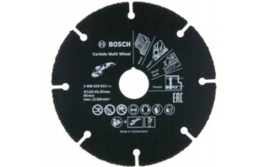 BOSCH TARCZA DO CIĘCIA Carbide Multi Wheel 125mm
