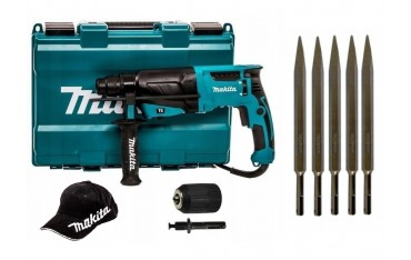 MAKITA Młotowiertarka SDS-PLUS 800W HR2630 SDS+