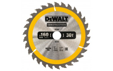 DeWALT DT1932 TARCZA DO PILAREK 160x20mm 30T (AC)